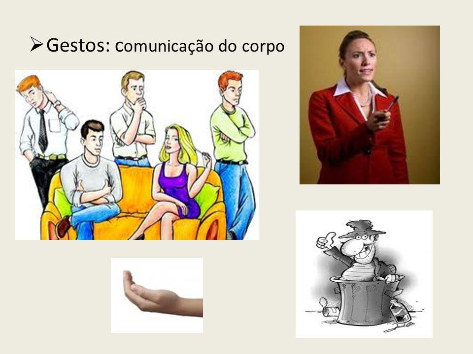 Gestos: comunicação do corpo