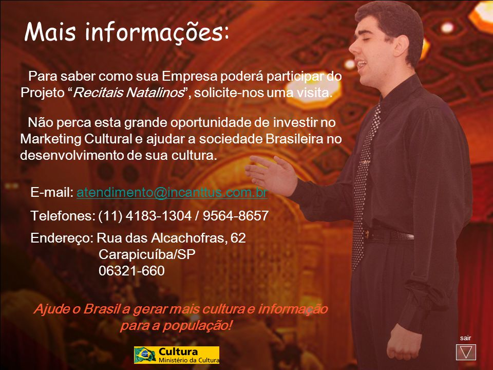 Ajude o Brasil a gerar mais cultura e informação