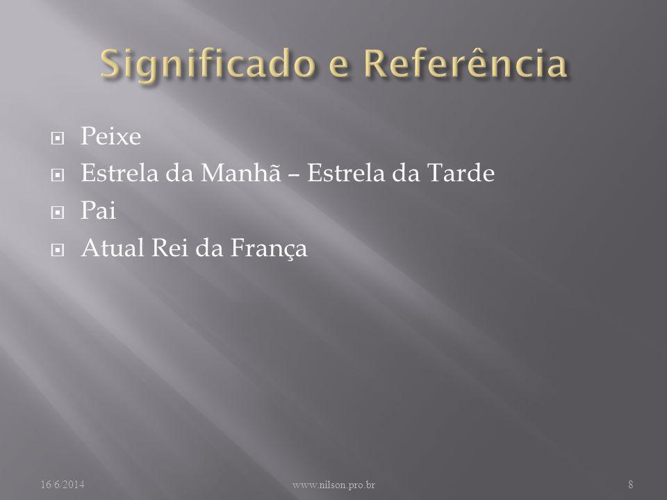 Significado e Referência