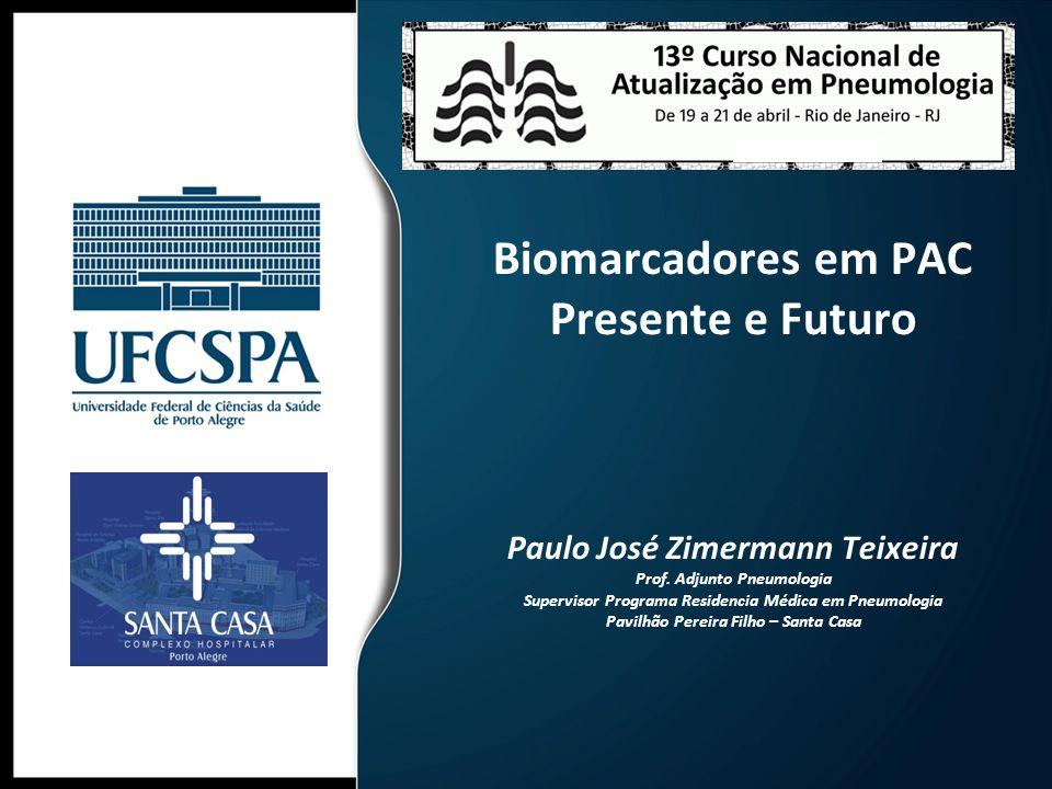 Biomarcadores em PAC Presente e Futuro Paulo José Zimermann Teixeira Prof.