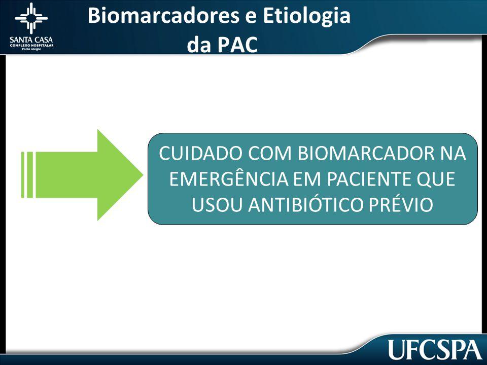 Biomarcadores e Etiologia da PAC