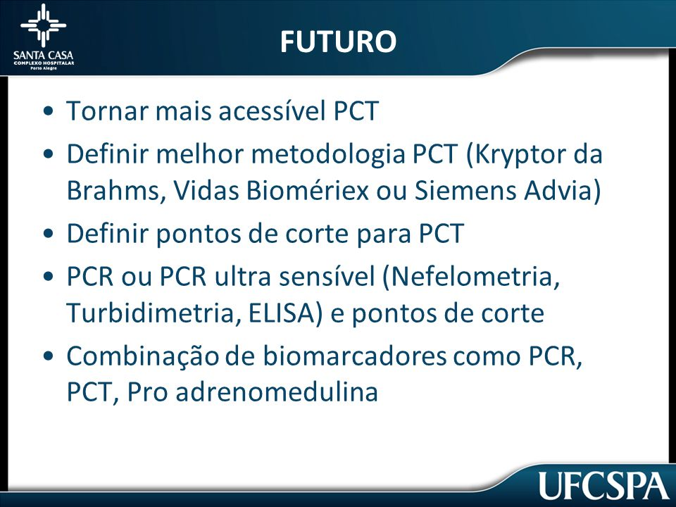 FUTURO Tornar mais acessível PCT