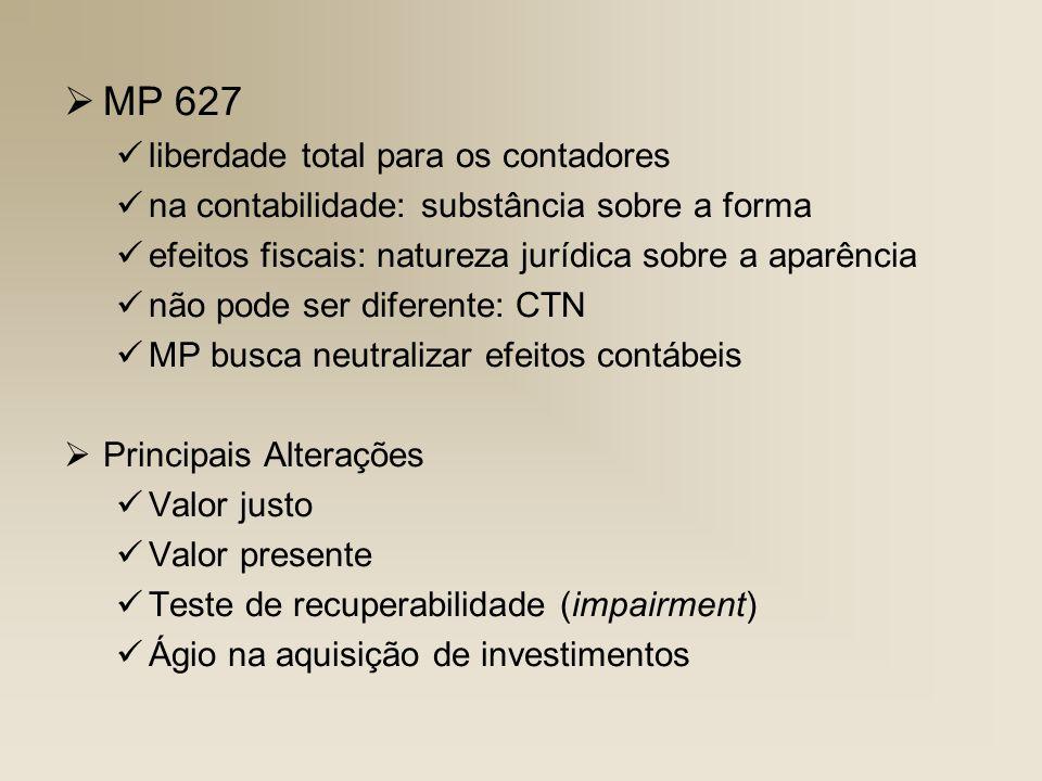 MP 627 liberdade total para os contadores