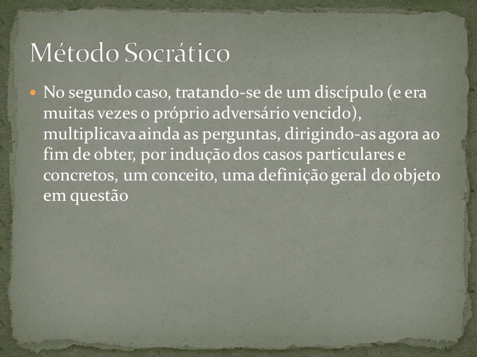 Método Socrático