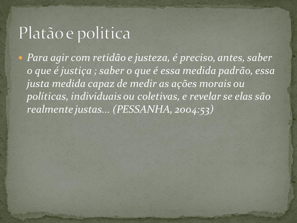 Platão e politica
