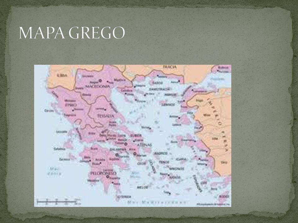 MAPA GREGO