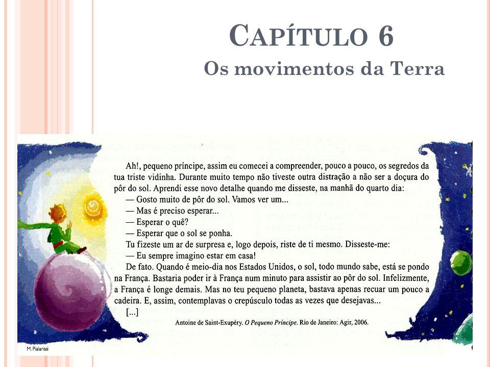 Capítulo 6 Os movimentos da Terra
