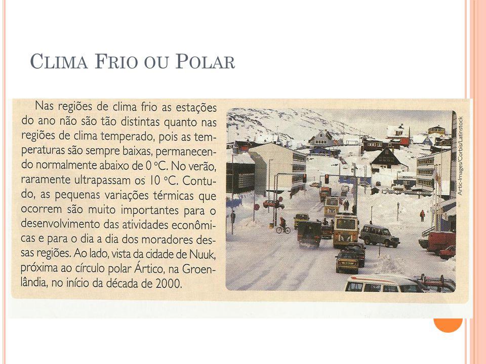 Clima Frio ou Polar