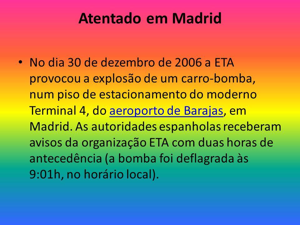 Atentado em Madrid
