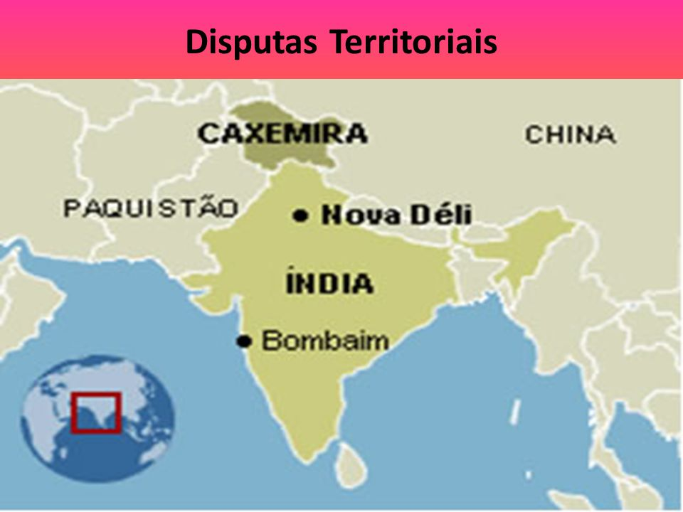Disputas Territoriais