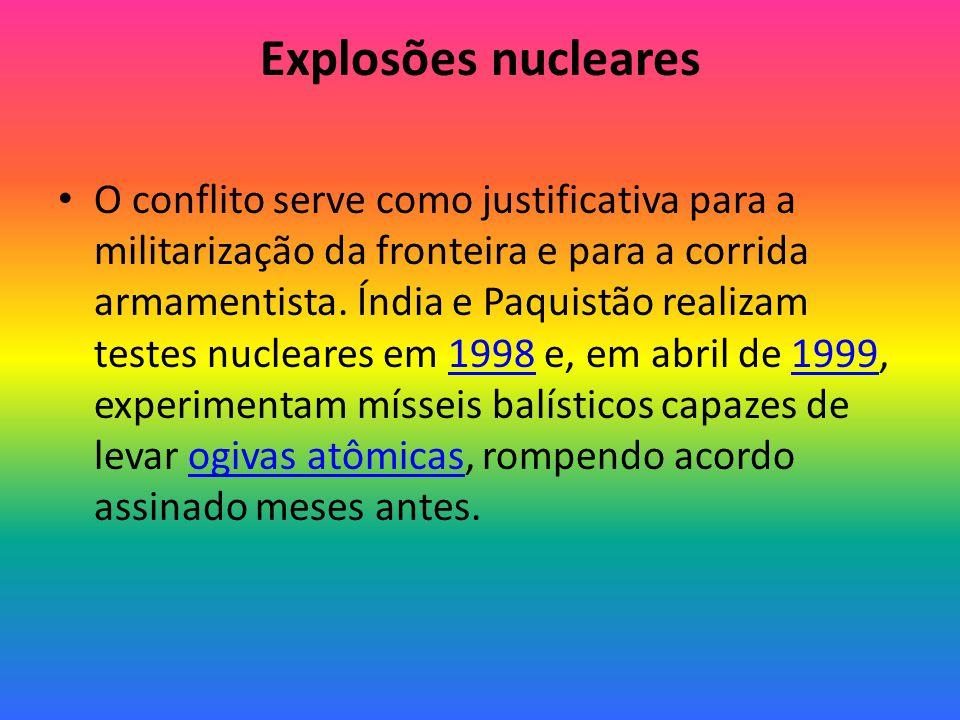 Explosões nucleares