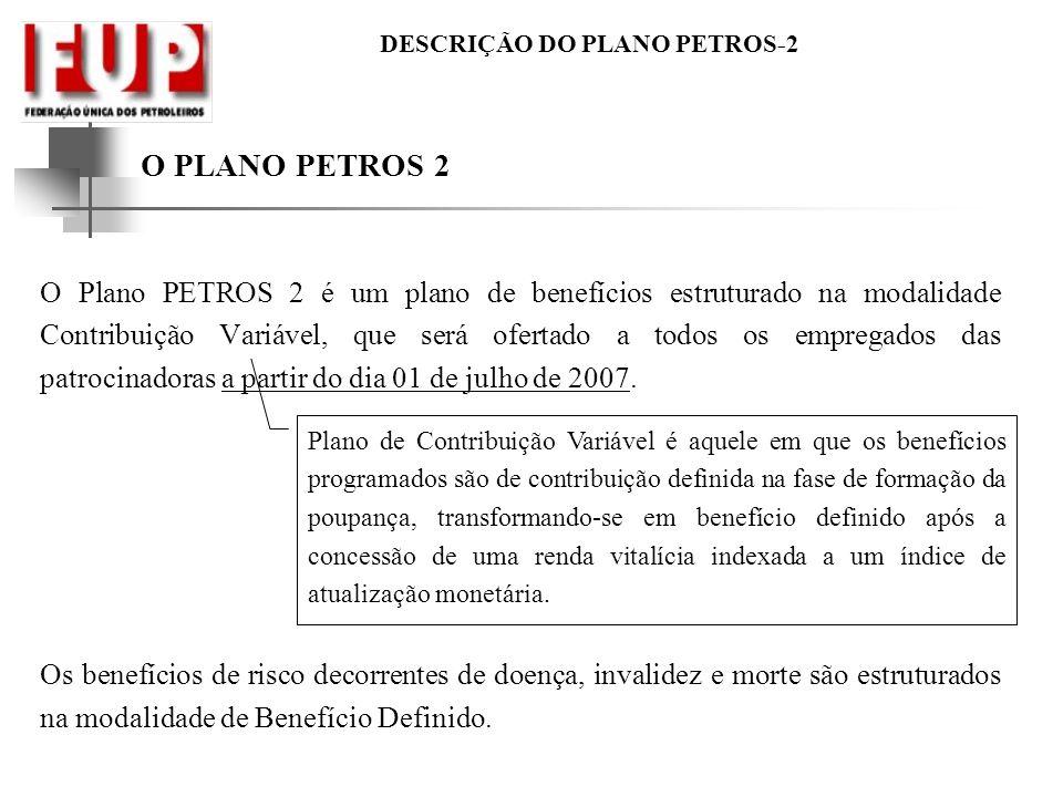 O PLANO PETROS 2