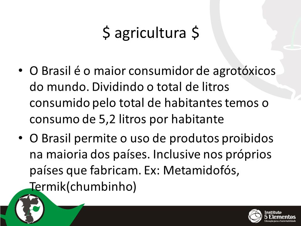 $ agricultura $