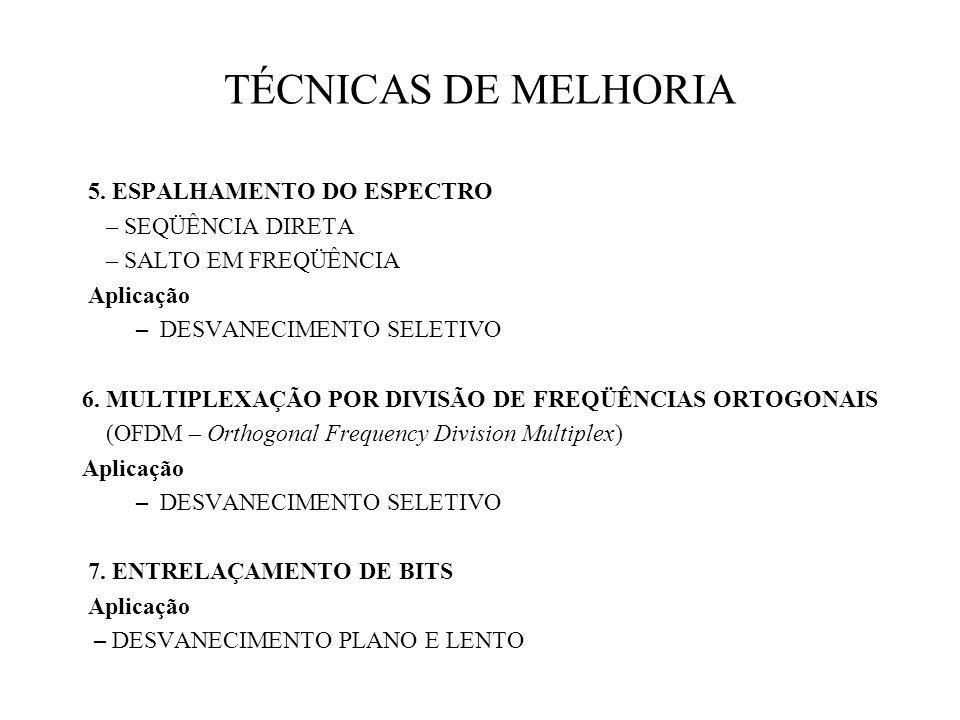 TÉCNICAS DE MELHORIA