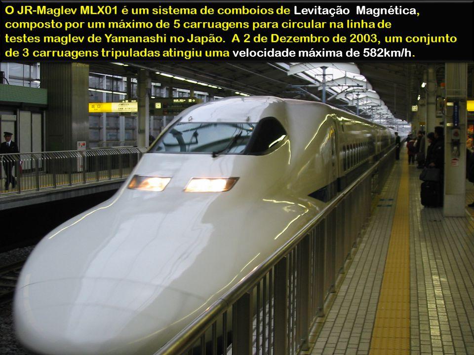 O JR-Maglev MLX01 é um sistema de comboios de Levitação Magnética, composto por um máximo de 5 carruagens para circular na linha de testes maglev de Yamanashi no Japão.