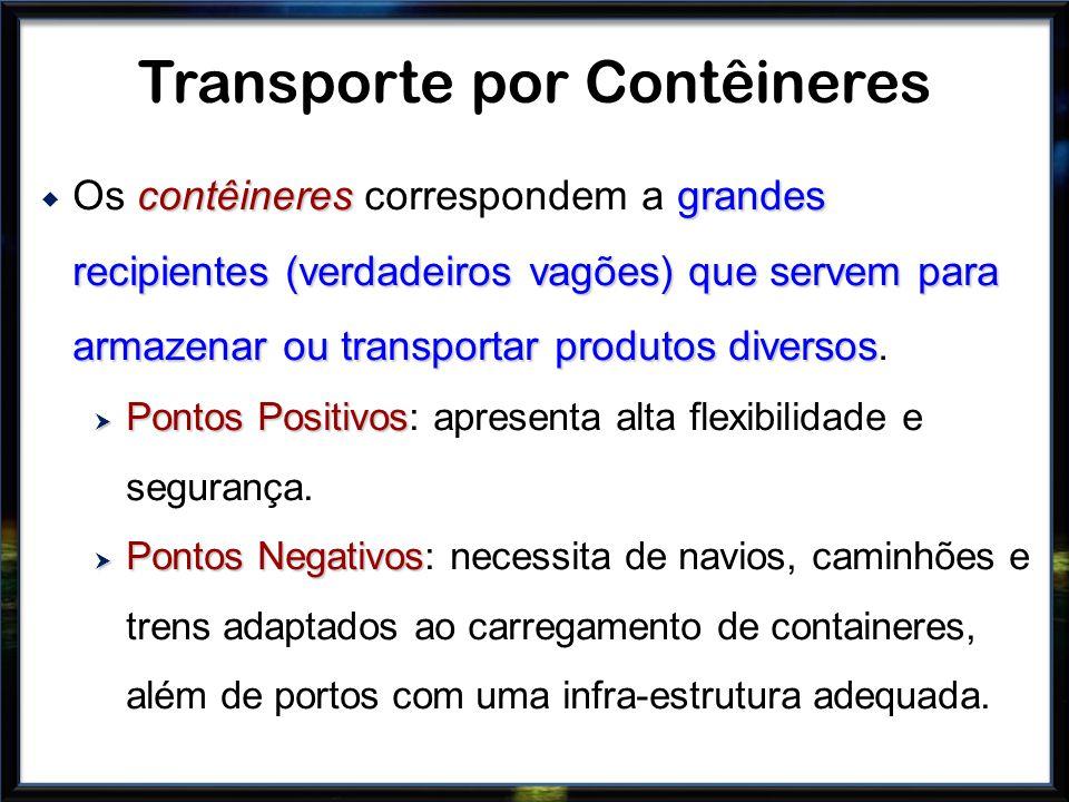 Transporte por Contêineres