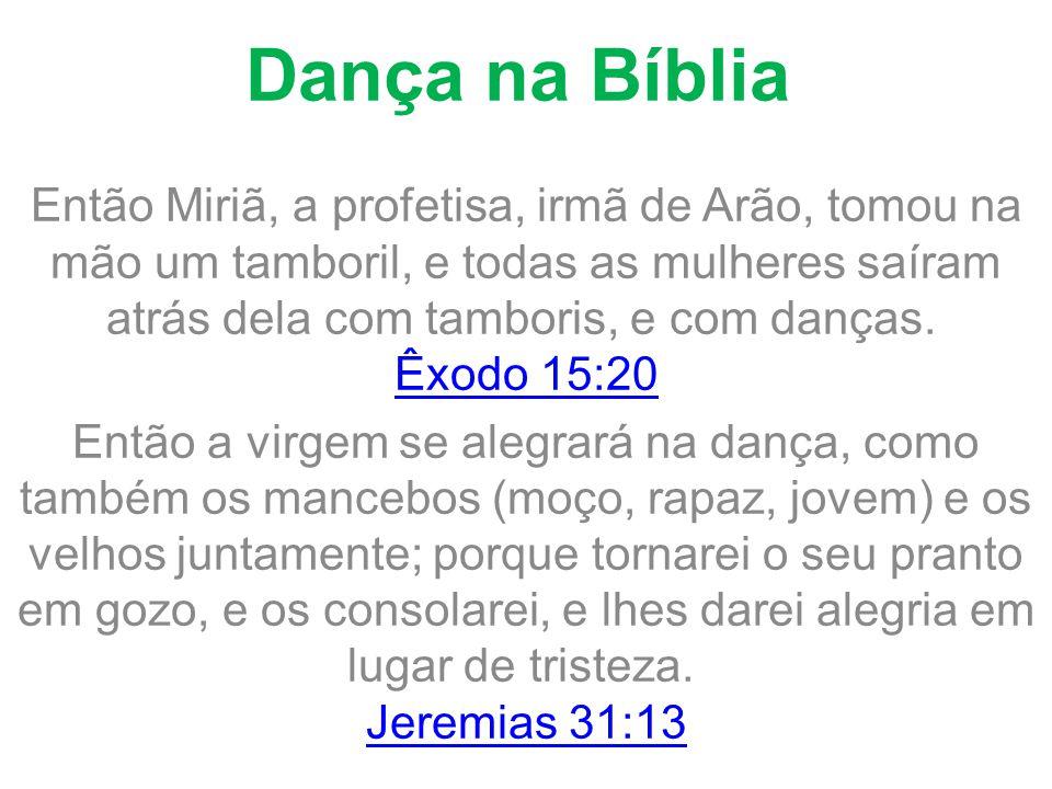 Dança na Bíblia
