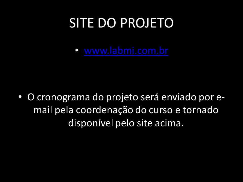 SITE DO PROJETO www.labmi.com.br