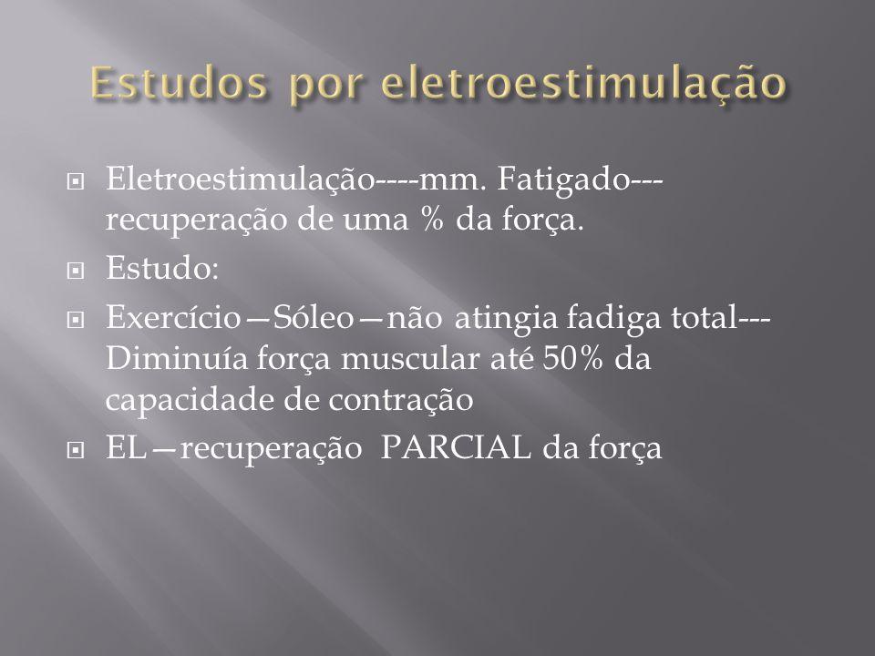 Estudos por eletroestimulação