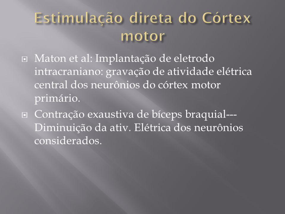 Estimulação direta do Córtex motor
