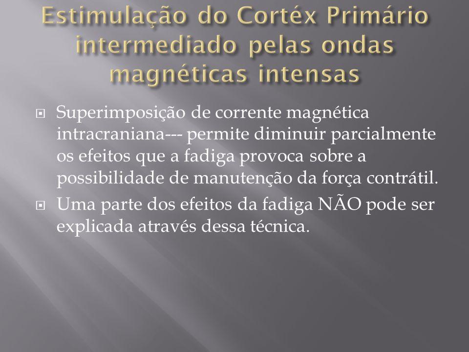 Estimulação do Cortéx Primário intermediado pelas ondas magnéticas intensas