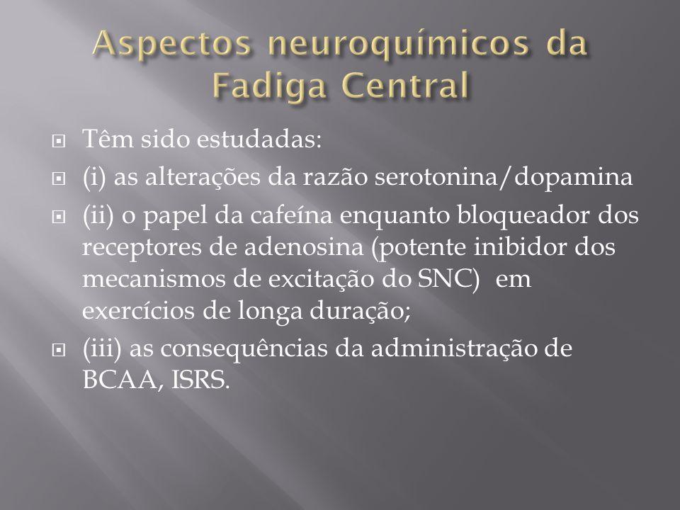 Aspectos neuroquímicos da Fadiga Central