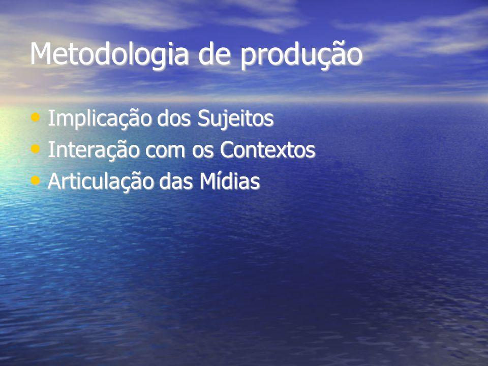 Metodologia de produção