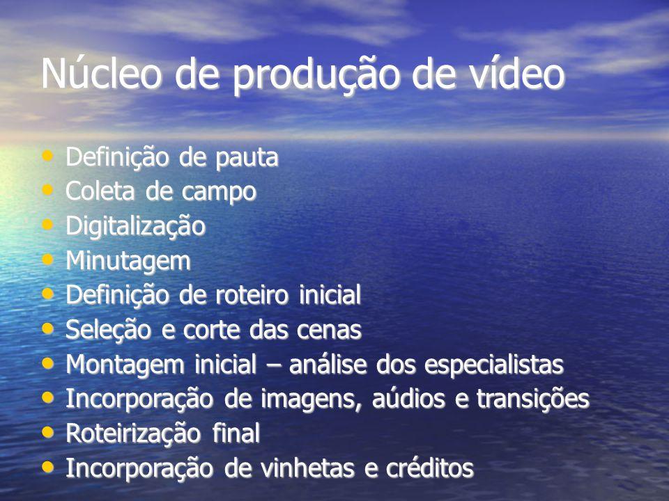 Núcleo de produção de vídeo