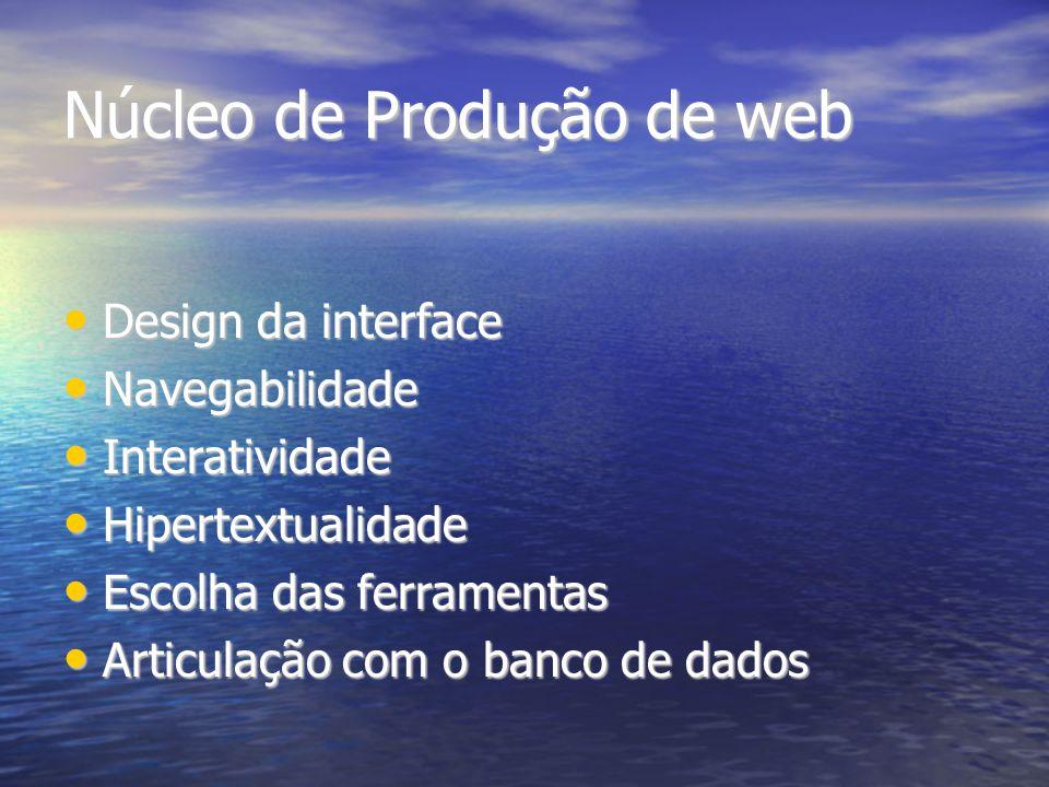 Núcleo de Produção de web