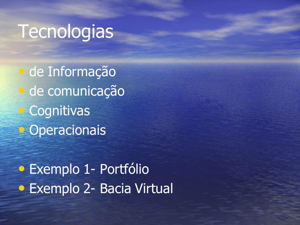Tecnologias de Informação de comunicação Cognitivas Operacionais