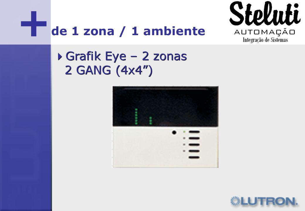 + de 1 zona / 1 ambiente Grafik Eye – 2 zonas 2 GANG (4x4 )