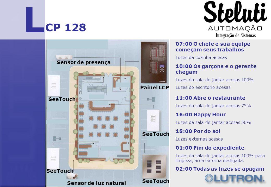 L CP 128 07:00 O chefe e sua equipe começam seus trabalhos