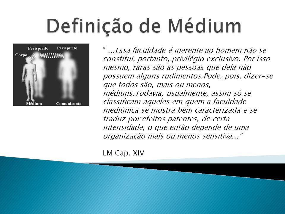 Definição de Médium