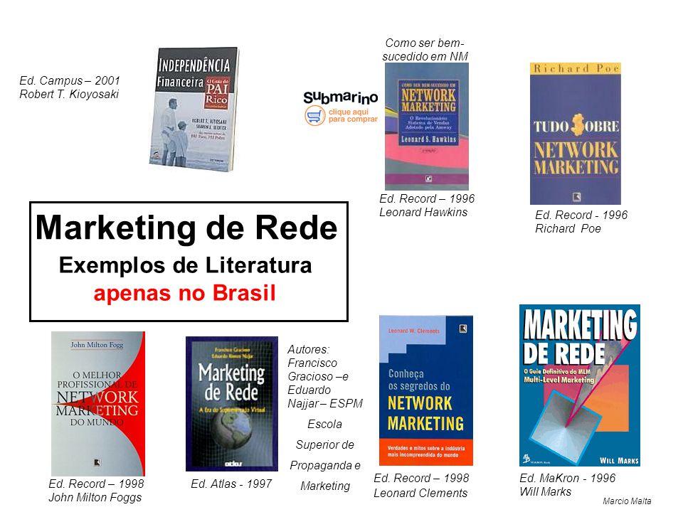 Exemplos de Literatura apenas no Brasil