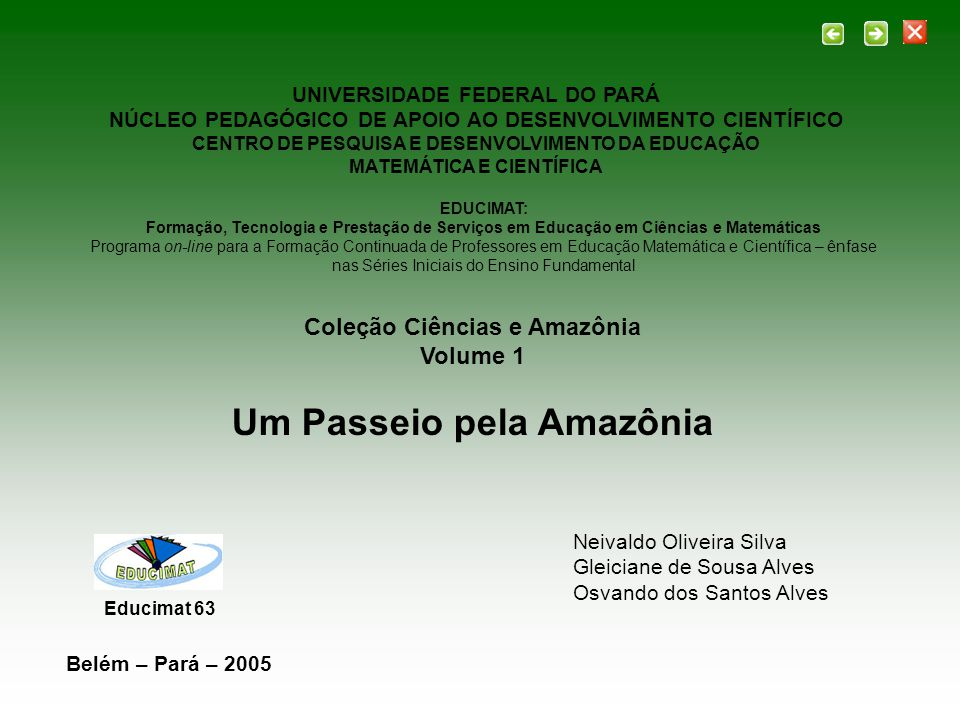 Um Passeio pela Amazônia