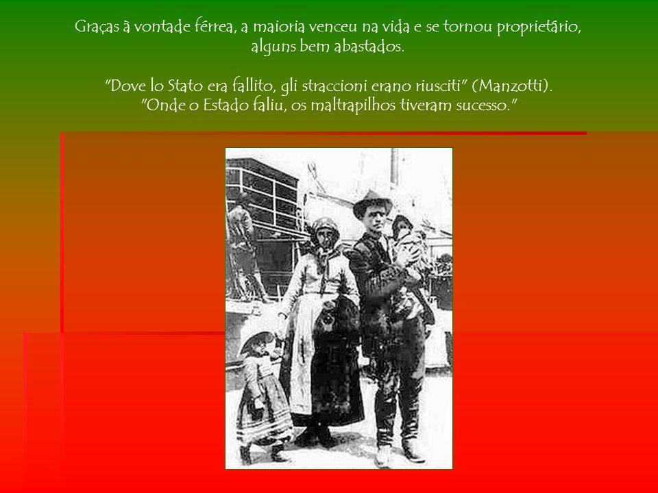 Dove lo Stato era fallito, gli straccioni erano riusciti (Manzotti).