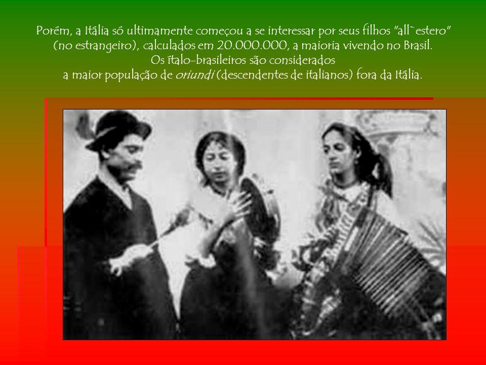 Os ítalo-brasileiros são considerados