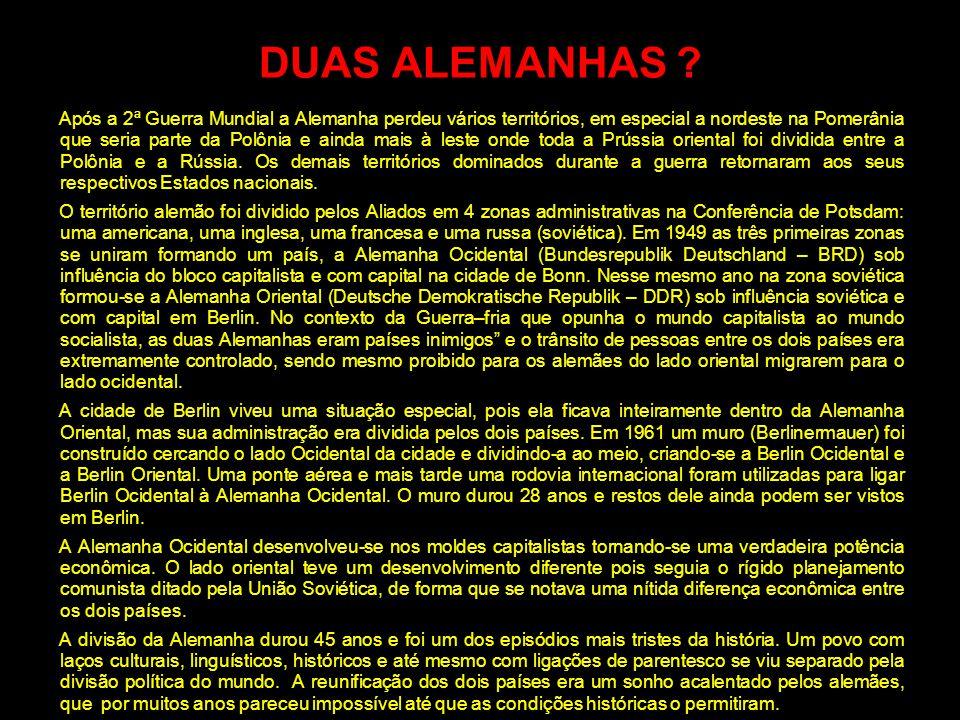 DUAS ALEMANHAS