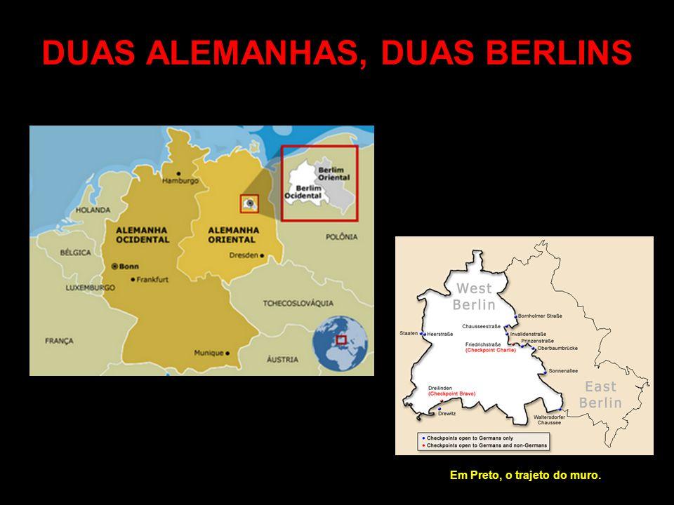 DUAS ALEMANHAS, DUAS BERLINS
