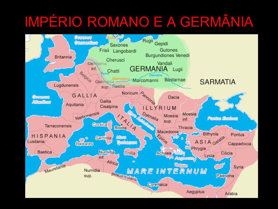 IMPÉRIO ROMANO E A GERMÂNIA