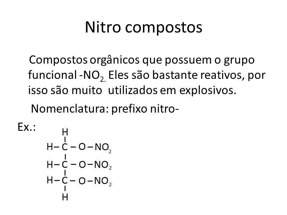 Nitro compostos