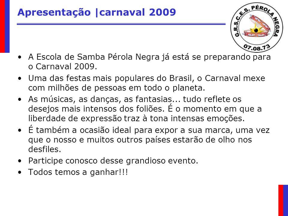 Apresentação |carnaval 2009