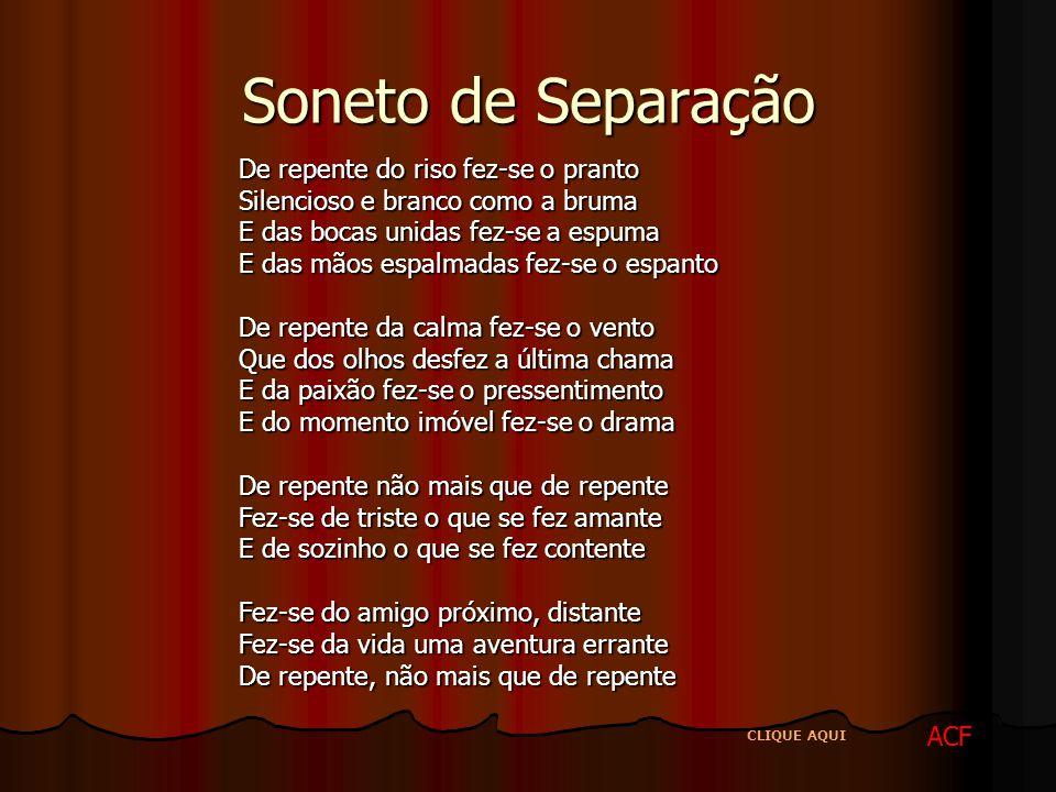 Soneto de Separação