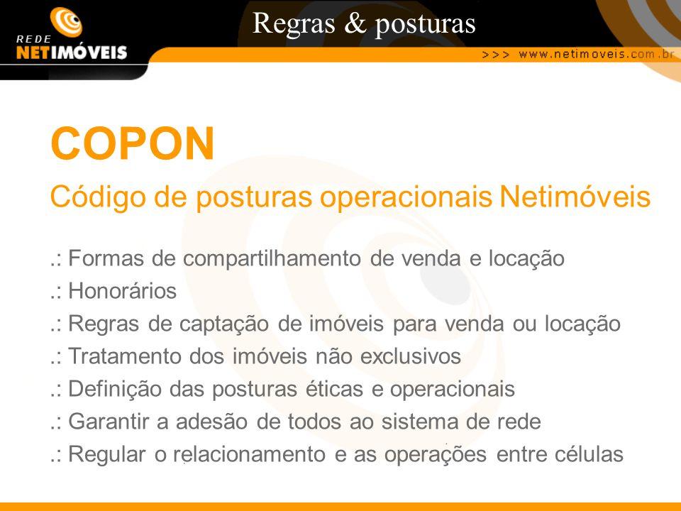 COPON Regras & posturas Código de posturas operacionais Netimóveis