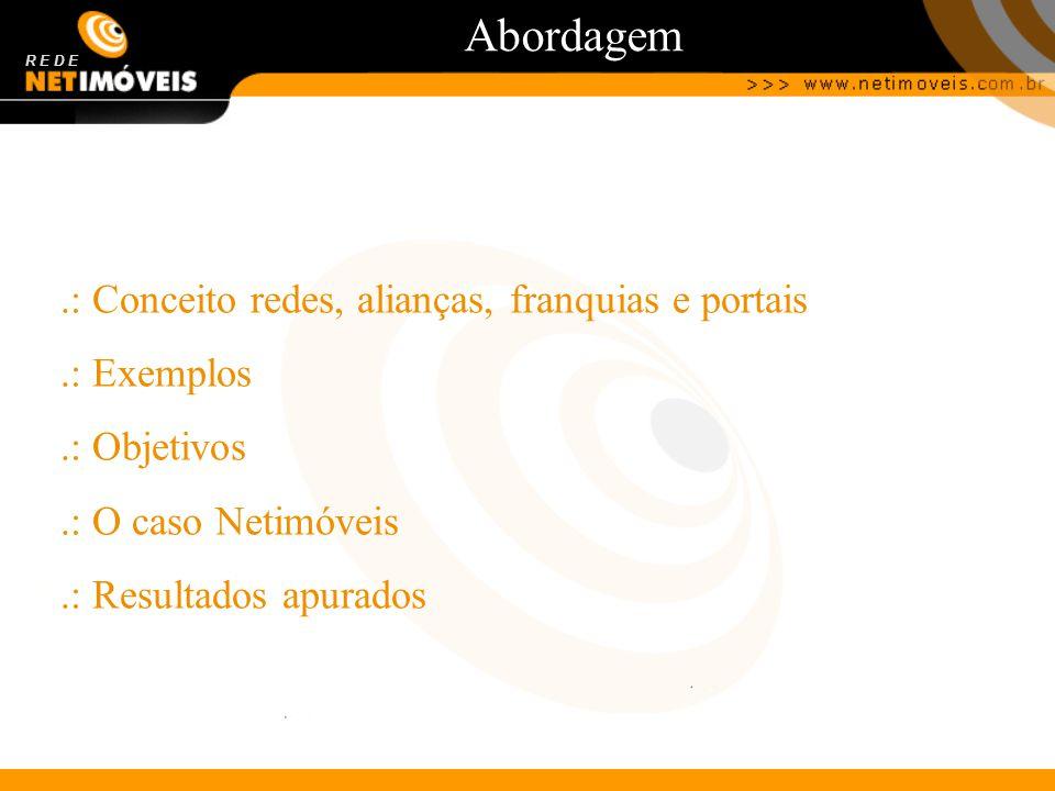 Abordagem .: Conceito redes, alianças, franquias e portais .: Exemplos