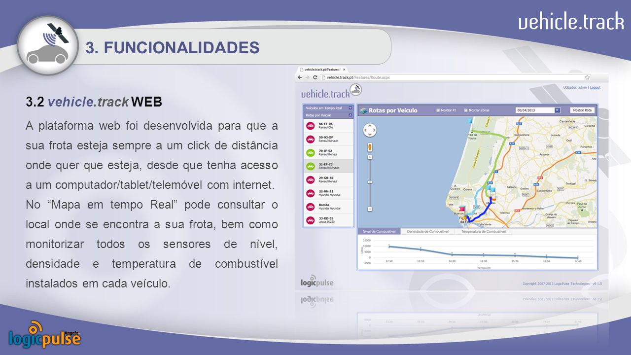 3. FUNCIONALIDADES 3.2 vehicle.track WEB