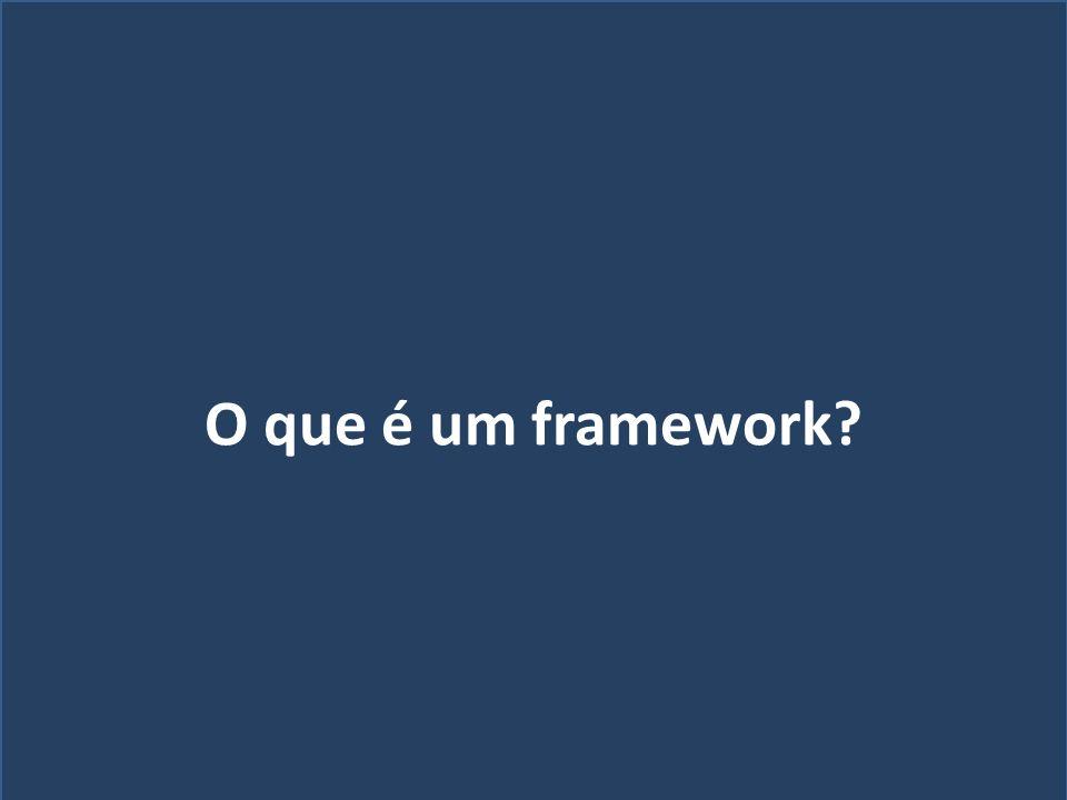 O que é um framework Quem sou eu
