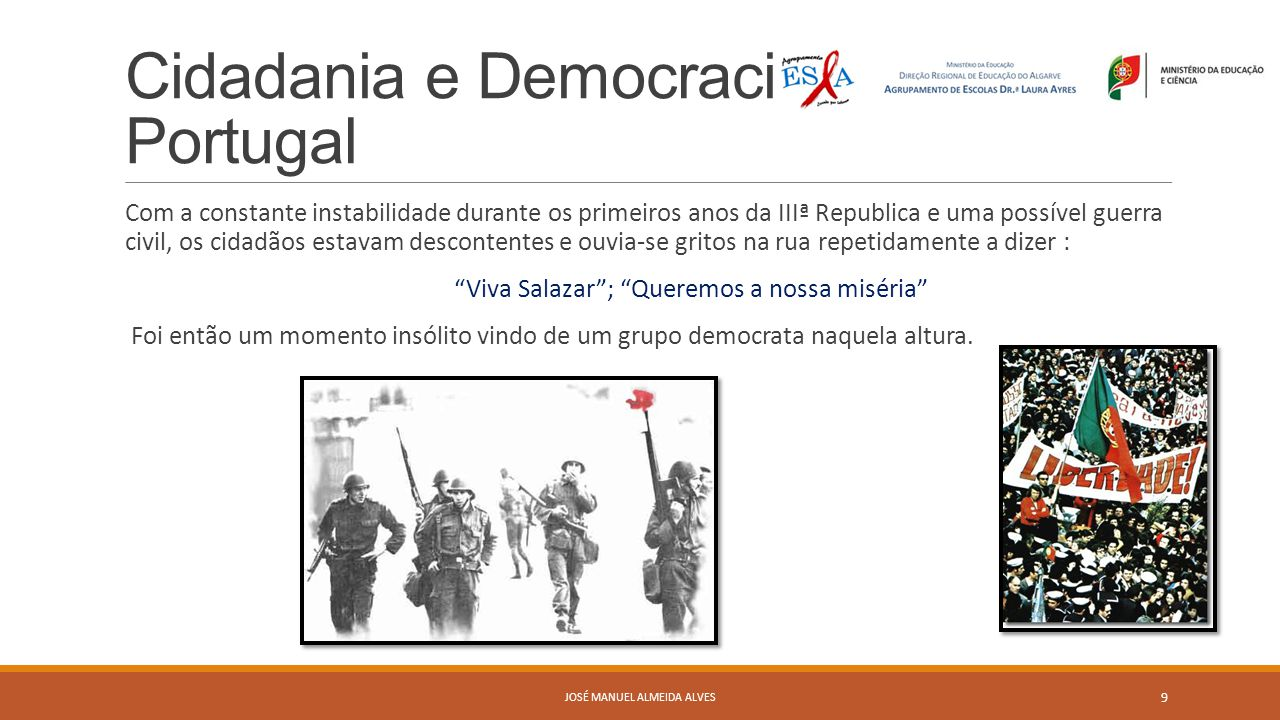 Cidadania e Democracia em Portugal