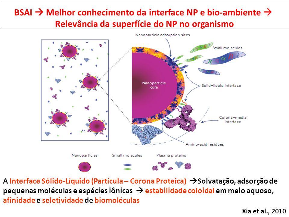 BSAI  Melhor conhecimento da interface NP e bio-ambiente 