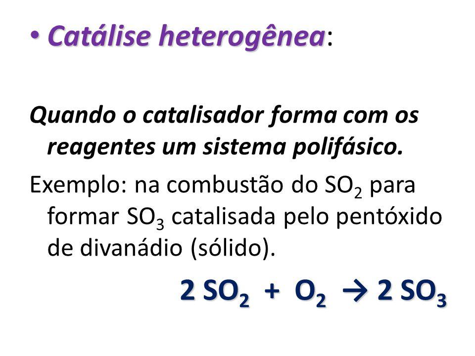 Catálise heterogênea: